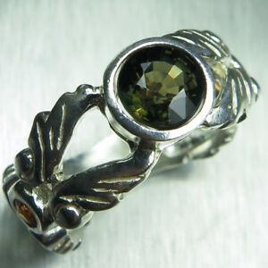 送料無料 ネックレス 110ctkornerupine925シルバー プラチナ110ct natural kornerupine green brown 925 silver gold platinum engagement ring