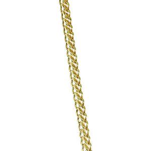 【送料無料】ネックレス 9ctイタリアフランス2625mmrrp270i0_26uk hallmarked 9ct gold italian franco chain 26 25mm rrp 270i0_26