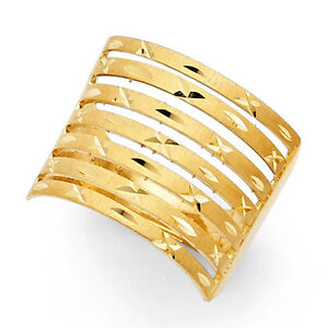 【送料無料】ネックレス 14k 18イェローゴールドmm7semanarioanillo oro solido14k real solid yellow gold 18 mm seven day semanario ring anillo oro solido