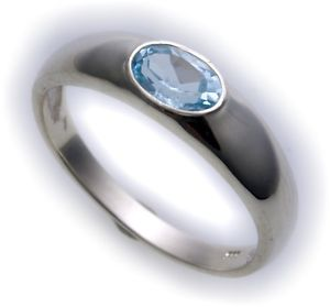 ネックレス ホワイト585topaz 14ktbest  womens ring real white gold 585 topaz 14kt quality blue