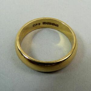 ネックレス ヴィンテージゴールドサイズバーミンガムグラムvintage 22 ct gold wedding ring size k 12 birmingham 1967  53 grams