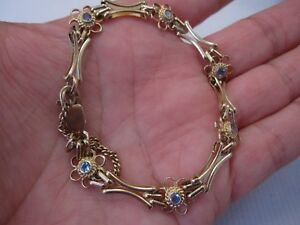 ネックレス 9ctイェローゴールドトパーズゲートa pretty design topaz gate bracelet in 9ct yellow gold