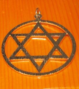 【送料無料】ネックレス 9ct yellow gold engine turnedstar of davidround pendant9ct yellow gold engine turned star of david round pendant