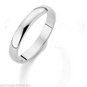 【送料無料】ネックレス 3mmladies18ct179mmホワイトゴールドd42gサイズj ladies18ct white gold wedding ring 3mm wide 179mm deep d shape 42g size j