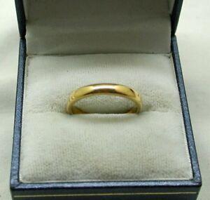 【送料無料】ネックレス 22ctnice quality plain narrow 22ct gold wedding ring