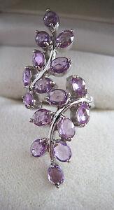 【送料無料】ネックレス ボックスホワイトゴールドセイロンサファイアリングサイズ with box 9ct white gold ceylon purple sapphire ring size l hallmarked