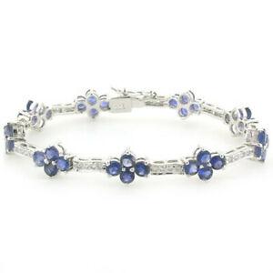 【送料無料】ネックレス スターリングシルバーアイオライトブレスレットiolite bracelet in sterling silver