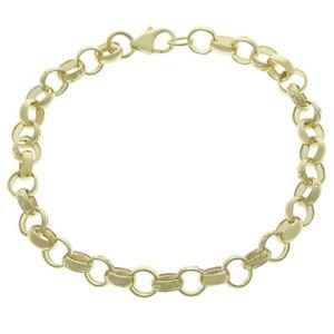ネックレス ゴールドジュニアベルチャーブレスレット¥hallmarked 9ct gold juniors belcher bracelet 7512g rrp 500 b13_75_j