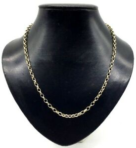 ネックレス ソリッドゴールドベルチャーチェーン9ct solid gold 20 belcher chain