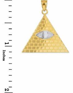 ネックレス ツートンカラー14ct18ホルスネックレスエジプトピラミッド