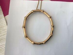 ネックレス 19209 ct gold bamboo bracelet in lovelycondition1920s 9 ct gold bamboo bracelet in lovely condition