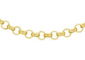 【送料無料】ネックレス イエローゴールドラウンドベルチャーチェーン9ct yellow gold 160 round belcher chain 51cm20