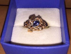 【送料無料】ネックレス デイヴィッドゴールドサファイアリングツリーearly clogau st david 9ct ry gold amp; sapphire 'tree of life' ring n; 53; 6 12
