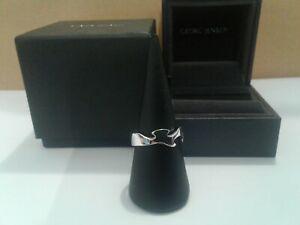 【送料無料】ネックレス ゲオルクイェンセンホワイトゴールドフュージョンリングサイズセンターリングgeorg jensen 18ct white gold middle fusion ring size, o 12 ,centre ring