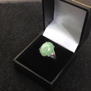 2019年新作 【送料無料 jadeite cabochon】ネックレス kホワイトゴールドカボションリング18ct 18k white gold oval cabochon gold jade jadeite ring, フロアマット通販店ワールドマット:43e52e96 --- spotlightonasia.com