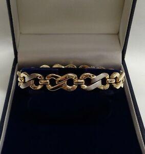【再入荷!】 【送料無料】ネックレス リンク29ct75インチ19cm165グラムfancy link two colour 19cm 9ct link gold bracelet 165 length 75 inch 19cm 165 grams, ミラクルShop:ba445365 --- spotlightonasia.com
