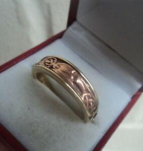 【送料無料】ネックレス ウェールズローズイエローゴールドドラゴンサイズclogau welsh 9ct rose amp; yellow gold dragon signet ring  size z