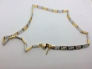 誕生日プレゼント 【送料無料】ネックレス ホワイトゴールドイエローゴールドリンクチェーン14 ct white yellow and yellow gold and gold link chain, サプライズ激熱店:b1eba6c3 --- spotlightonasia.com