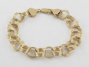 【2019春夏新色】 【送料無料】ネックレス イエローゴールドブレスレットインチグラム14k inches yellow gold gold yellow charm bracelet 7 inches 122 grams, 北檜山町:7cc991a5 --- spotlightonasia.com