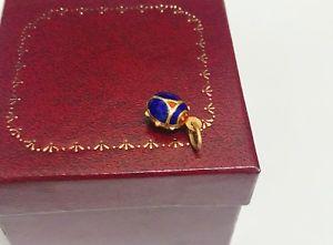 送料無料 ネックレス イエローゴールドエナメルペンダント18k yellow gold amp; enamel ladybug charmpendantUpqMSVzG