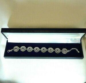 【送料無料】ネックレス アレクサンドライトスターリングシルバーアジャスタブルブレスレット784 ct created alexandrite sterling silver filigree adjustable bracelet