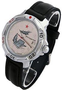 【送料無料】 腕時計 ヴォストークロシアベージュvostok komandirskie 811402 2414 military russian commander watch beige
