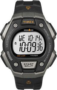 【送料無料】 腕時計 タイメックスt5k821アイアンマン30アラームindigloクロノグラフtimex t5k821, mens ironman 30lap resin watch, alarm, indiglo, chronograph