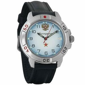 【送料無料】 腕時計 ヴォストークロシアvostok komandirskie 431323 military russian watch armed forces army