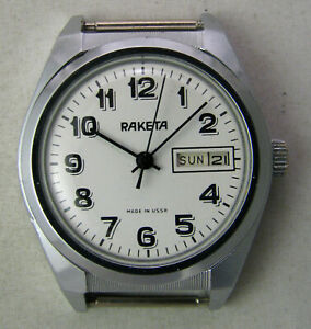 【送料無料】 腕時計 ロシアraketa 2628 70originalサービスrareヴィンテージソussrrare vintage soviet ussr russian watch raketa 2628 70s original serviced