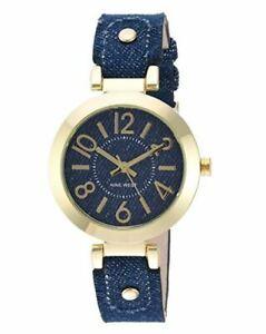 【送料無料】 腕時計 ケースストラップウォッチwomen's rose goldtone case blush blue strap watch