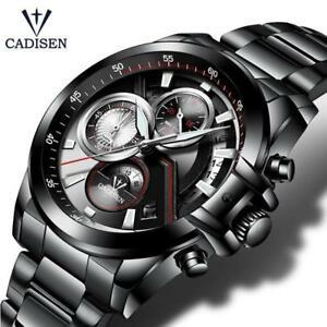 【送料無料】 腕時計 トップブランドcadisenmcadisen wristwatch men top brand luxury military army sports casual waterproof m