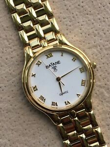 【送料無料】 腕時計 ニューlistingbataneヴィンテージwomens325mm listingbatane watch working vintage lady ladies womens gold tone 32,5mm