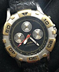【送料無料】 腕時計 ビンテージクオーツ listingjustina vintage watch working quartz 39mm