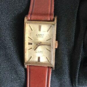 【送料無料】 腕時計 ヴィンテージウォッチ20mmlistingcamyジュネーブコードマニュアル listingcamy geneva cord manual winding vintage watch 20 mm working