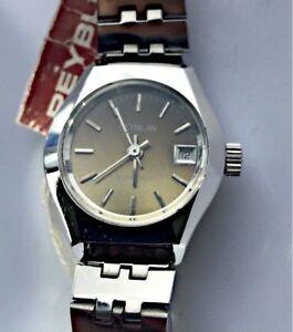 【送料無料】 腕時計 オートヴィンテージレディースメタルウォッチ listingreyblan automatic vintage watch women ladies metal date nos