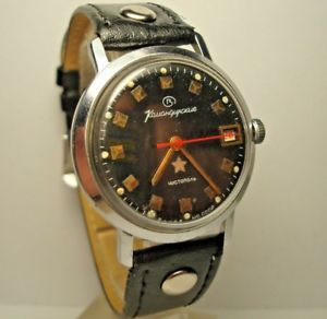 【送料無料】 腕時計 チストポリussr rareサービスwostokボストークwostok vostok commander ministerial wrist watch chistopol ussr rare serviced