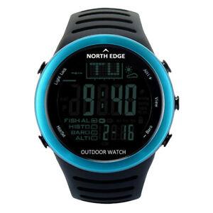 【送料無料】 腕時計 ディジタルスポーツウォッチィズmen digital sport watches wristwatch fishing weather altimeter barometer