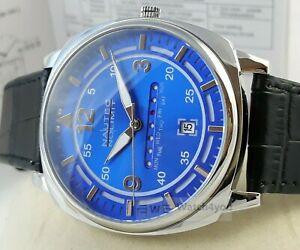 【送料無料】 腕時計 sqarqzltststblウォッチmens 42mmデイnautecnautec no limit sqarqzltststbl watch daydate mens 42mm steel leather