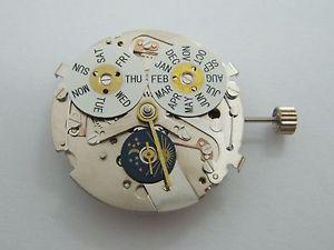 【送料無料】 腕時計 カモメ324hseagull movement triple date daynight automatic indicator 24 h