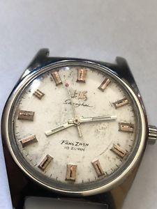 【送料無料】 腕時計 シャンハイ1936x44mmshanhai fang zhen 19 jewels 36x44mm