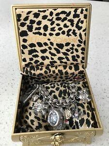 【送料無料】 腕時計 ジョンソンブレスレットbetsey johnson charm bracelet watch