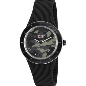 【送料無料】 腕時計 hop xマンhwu0827 42mmシリコーンブラックmenship