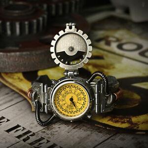 【送料無料】 腕時計 mensロックスチームパンククオーツローマ
