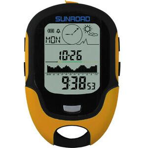 【送料無料】 腕時計 sunroad 7009000mディジタルbaroメーターコンパスリードsunroad 7009000m led digital altimeter baro meter compass waterproof
