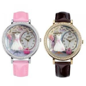 【送料無料】 腕時計 コレクションレーダーローザスワロフスキーdamenuhr didofa sweet collection leder rosa swarovski effekt 3d didof