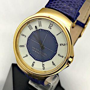 【送料無料】 腕時計 ウォッチビンテージベネトンnos benetton by bulova watch vintage gold plated watch 36mm mag2
