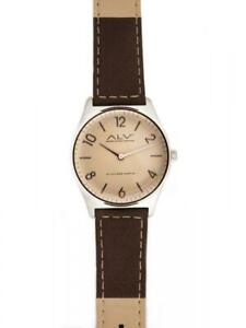 【送料無料】 腕時計 alvieroマルティーニalv0071ブラウンベージュwomensalvwomens wristwatch alv by alviero martini alv0071 leather brown beige