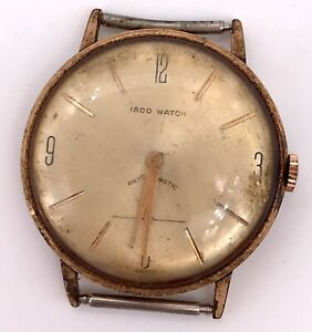 【送料無料】 腕時計 3wc1560ヴィンテージマニュアル34mmノナiscoウォッチカリフォルニアisco watch cal as 1560 vintage hand manual wind 34 mm non working 3wc