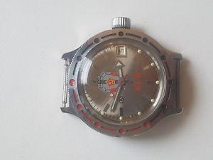 【送料無料】 腕時計 kgb 2416b rusサービスussrvostokrare collectible ussr watch vostok amphibian automatic kgb 2416b rus serviced