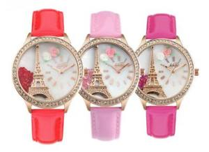 【送料無料】 腕時計 イタリアdidofaエッフェルdidofa3dwatch donna didofa voyage collection eiffel tower red didof effect 3d